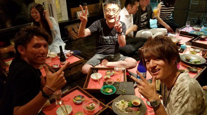 長岡京で山田昭さんとご飯♪さかなマジでうまかった♪