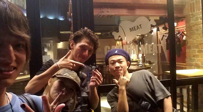 LUNTYメンバーと肉バル!!!LUNTY漫才コンビマジ面白い!笑