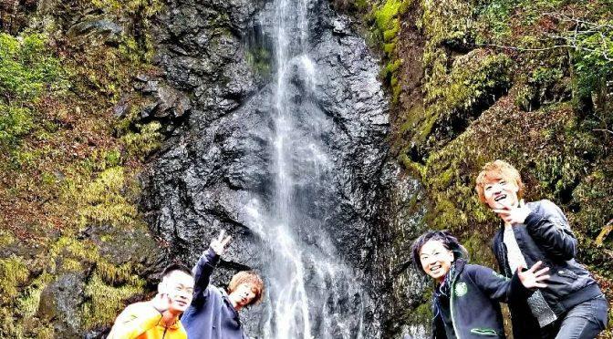 山梨の旅①!!!  弁天堂雄滝で初の滝行!!!久々に叫んだーーーーーーーー!!!!