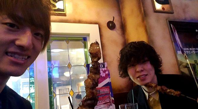イケメンイザキ君と平日夜にはしご5件(´゚д゚`)おススメグルメを満喫!イザキとデートなうに使って下さい!笑