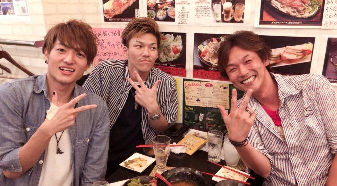 一年ぶりの再会!!! 同じ場所、同じアングルで名古屋飲み♪